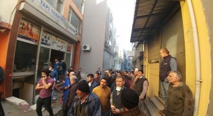İstanbul, Beyoğlu'nda yangın paniği
