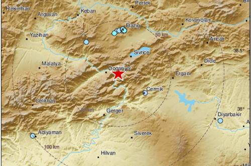 Gaziantep, Malatya ve Tunceli'de de hissedildi