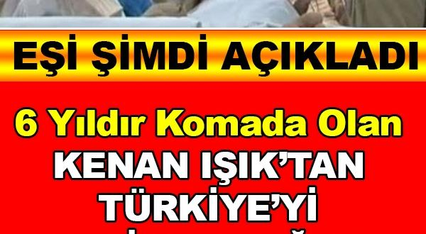 Kenan Işık'tan Türkiye'yi sevince boğan haber
