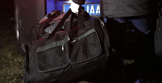 Kırklareli'nde havadan atıldığı iddia edilen 6 çantada çıkanlar şoke etti