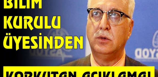 Bilim Kurulu Üyesi Prof. Dr. Tevfik Özlü'den tedirgin eden açıklama