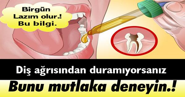 Diş Ağrısından Duramıyorsanız