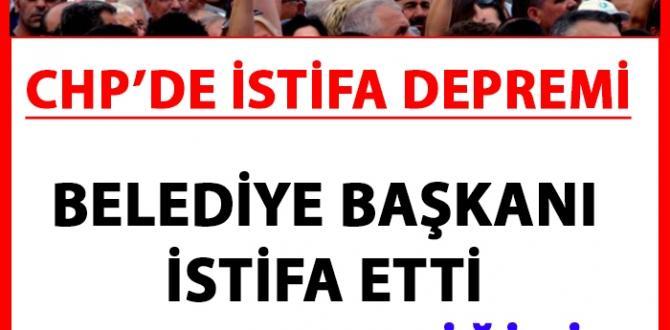CHP'de İstifa Depremi AKP'ye Geçtiğini Açıkladı