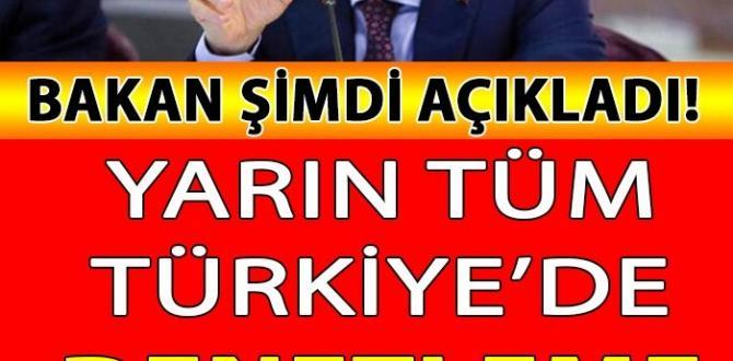 SON DAKİKA! Yarın Tüm Türkiye'de DENETLEME Olacak! Cezası VAR! İşte detaylar…