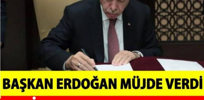 Başkan Erdoğan Açıkladı 1000 TL'lik nakdi destek uygulaması