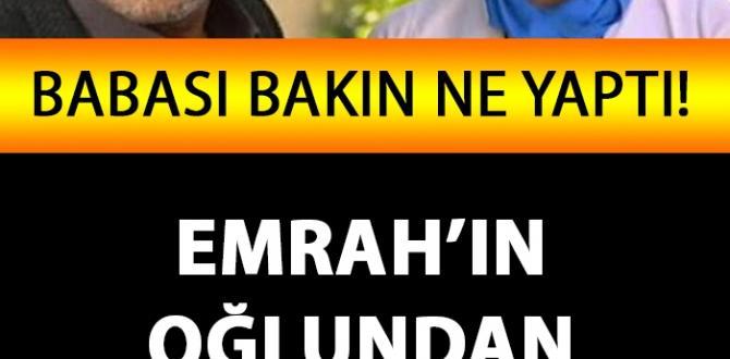 Emrah'ın Oğlu Tayfun'dan Türkiye'yi Üzen Paylaşım