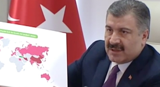 Bakan Fahrettin Koca'dan Gece Yarısı Açıklaması