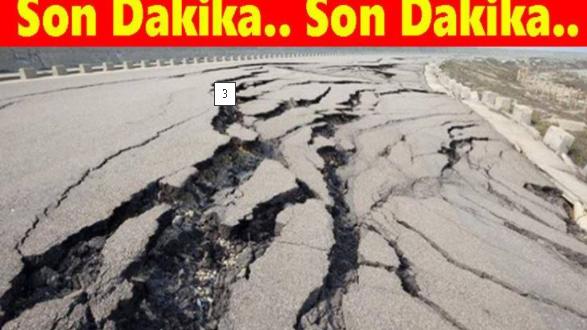 Korkutan Uyarı!Büyük Deprem Olacak 8 Yer